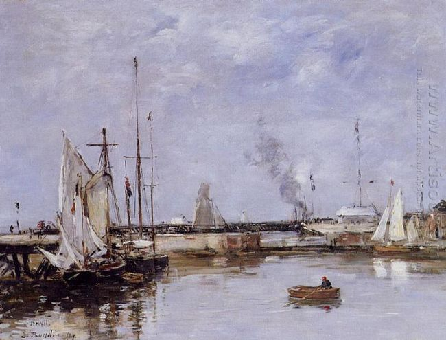 The Lock At Trouville 1894