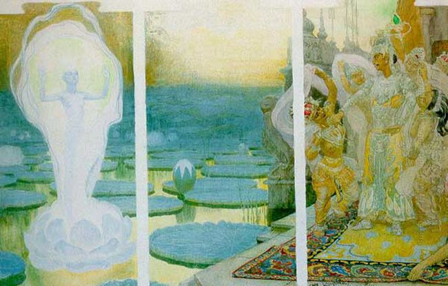 The Lotus Soul 1898