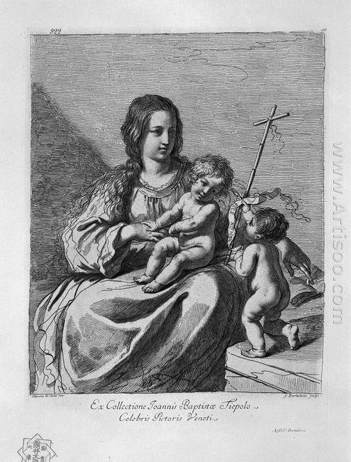 The Madonna With Child And St John The Baptist