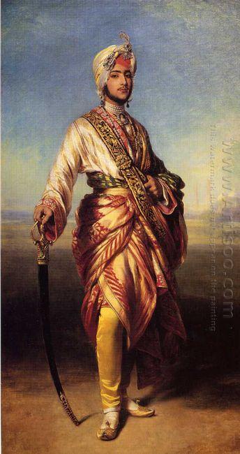 The Maharaja Dalip Singh 1854