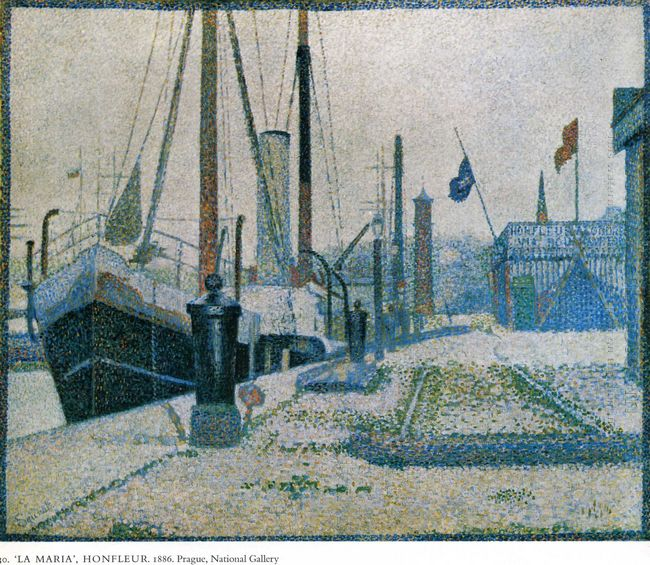 The Maria Honfleur 1886