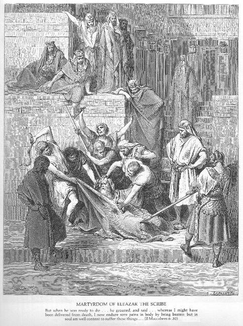The Martyrdom Of Eleazar The Scribe