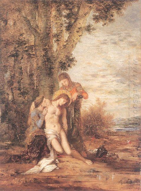 The Martyred St Sebastian 1869