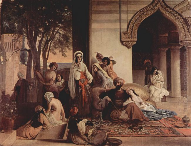 The New Favorite Harem Scene 1866