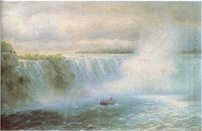 The Niagara Waterfall 1894