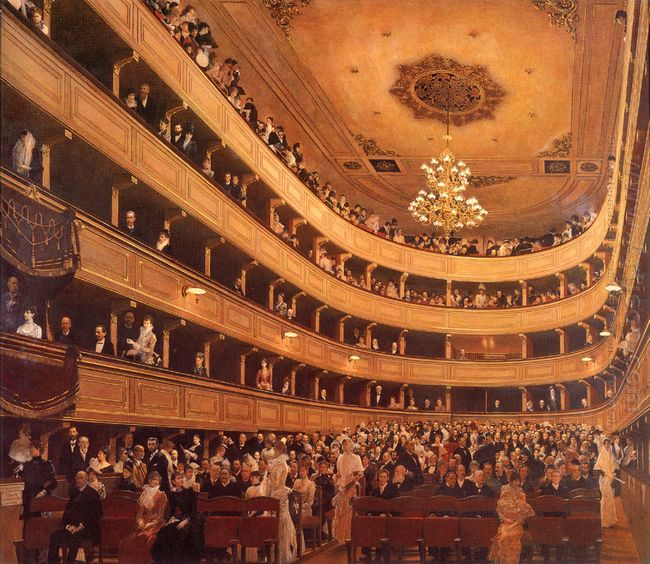 The Old Burgtheater 1889