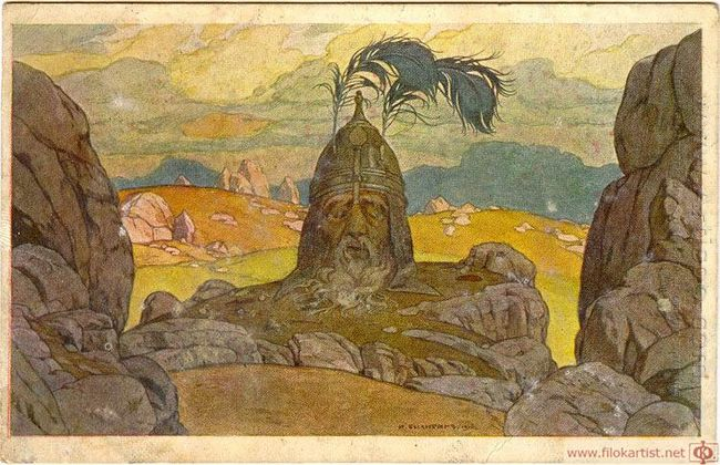 The Opera Ruslan And Ludmila 1900