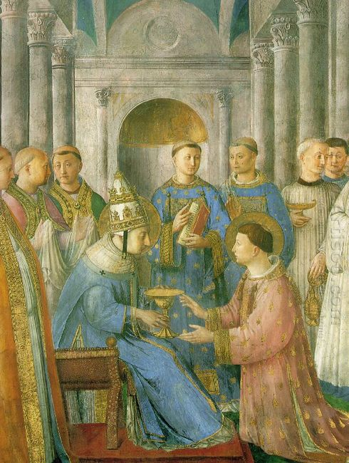 The Ordination Of St Lawrence