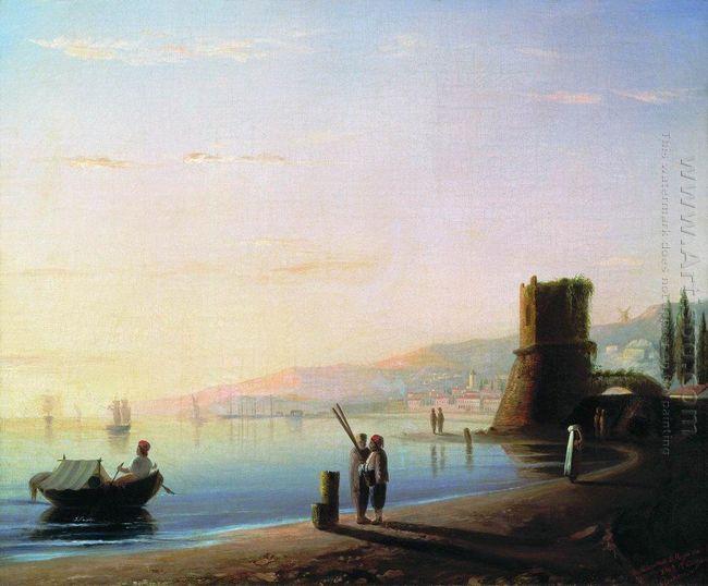 The Pier In Feodosia 1840