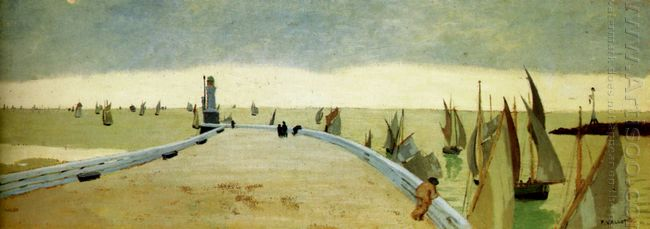 The Pier Of Honfleur 1901