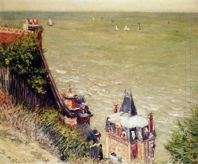 The Pink Villa At Trouville