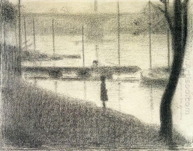 The Pont De Courbevoie 1886