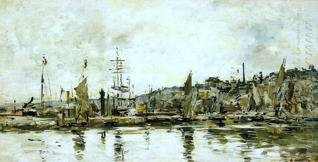 The Port Of Bordeaux 1876