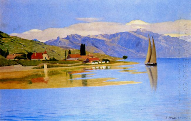 The Port Of Pully 1891