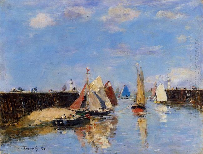 The Port Of Trouville 1886