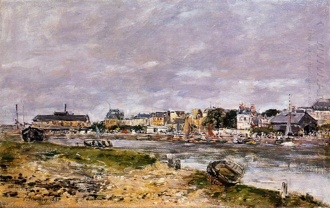 The Port Of Trouville 1895