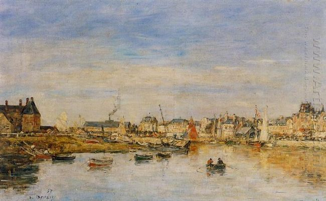 The Port Of Trouville 1897