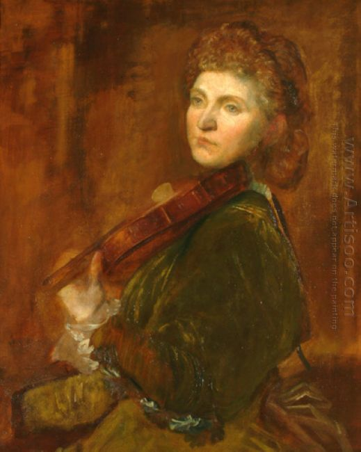 The Portrait Of Violinist Wilma Neruda A K A Lady Hall