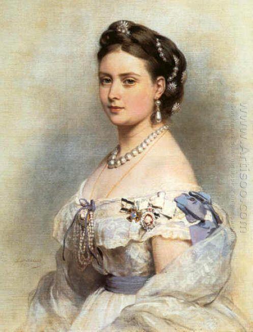 The Princess Victoria Princess Royal As Crown Princess Of Prussi