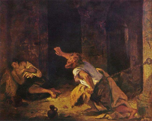 The Prisoner Of Chillon 1834