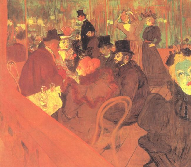The Promenoir The Moulin Rouge 1895