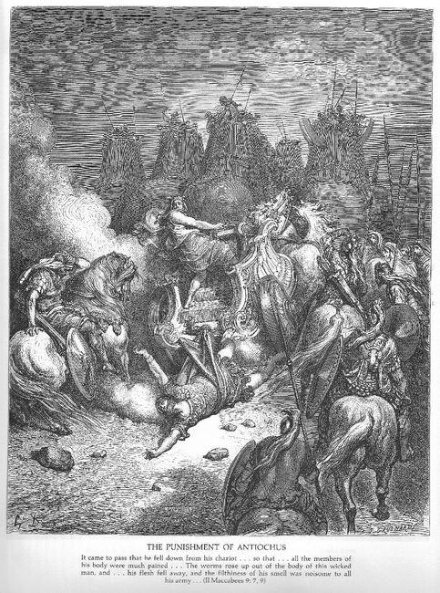 The Punishment Of Antiochus
