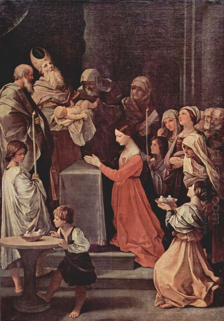 The Purification Of The Virgin 1640