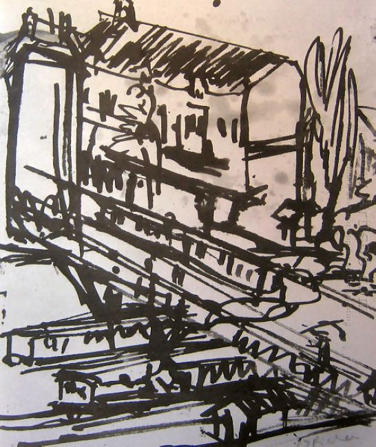 The Railway Overpass