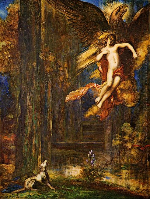 The Raising Of Ganymede 1886
