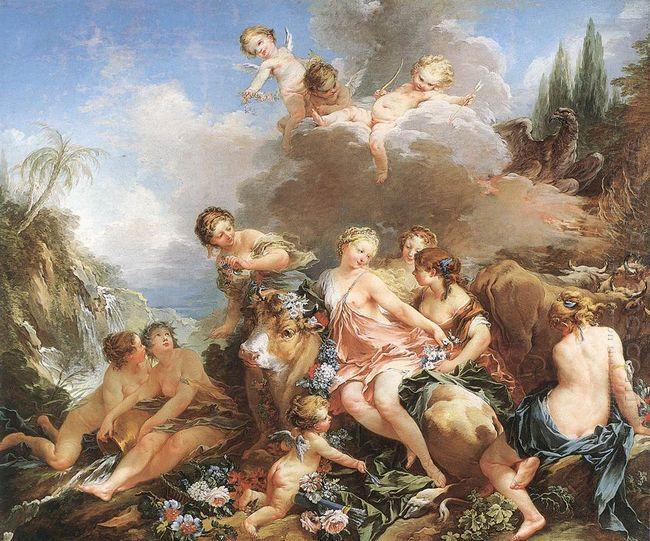 The Rape Of Europa 1734