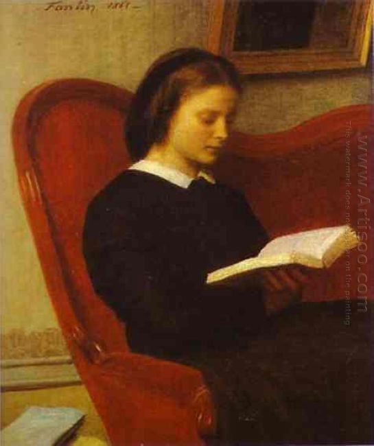 The Reader Marie Fantin Latour The Artist S Sister 1861