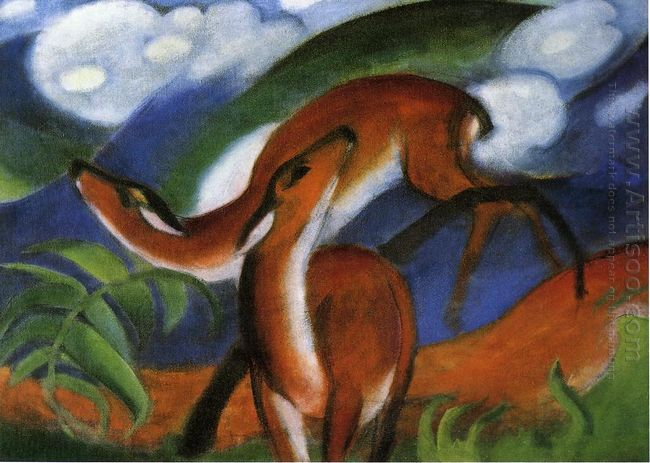 The Red Deer 1912