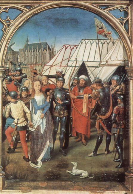 The Reliquary Of St Ursula 1489