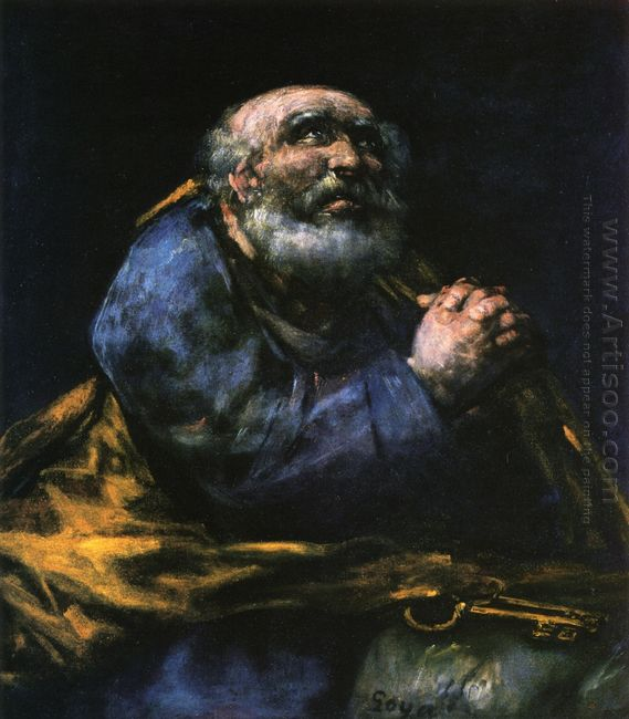 The Repentant Saint Peter