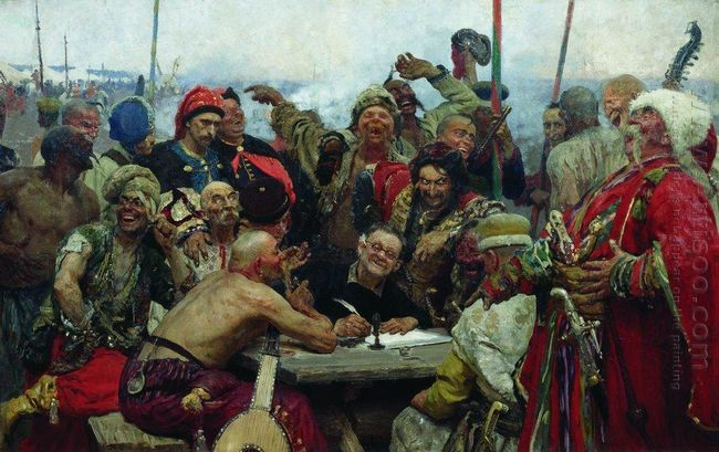 The Reply of The Zaporozhian Cossacks To Sultan Mahmoud Iv