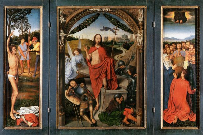 The Resurrection Central Panel From The Triptych Of The Resurrec