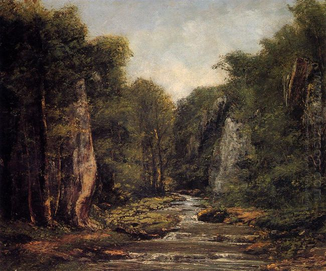 The River Plaisir Fontaine 1865