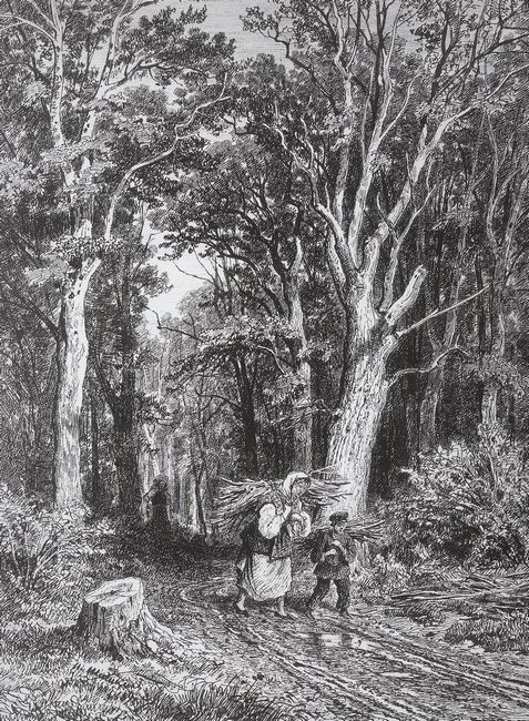 The Road In Forest 1869