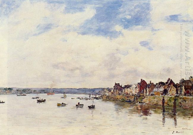 The Rocks At Saint Vaast La Hougue 1892