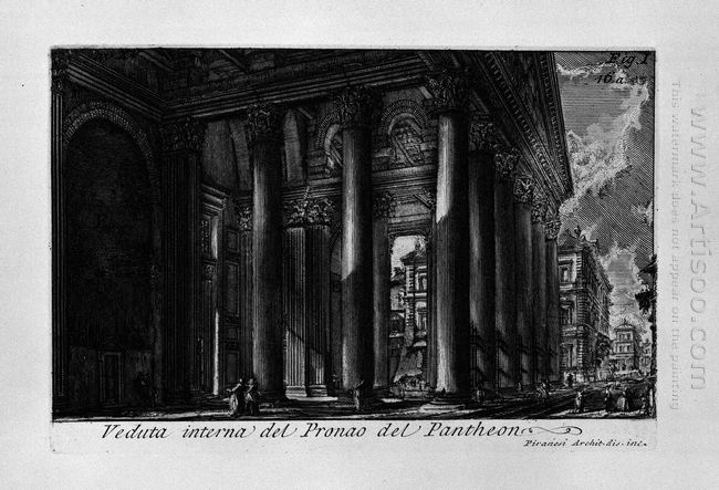 The Roman Antiquities T 1 Plate Xiv Pantheon 1756 1