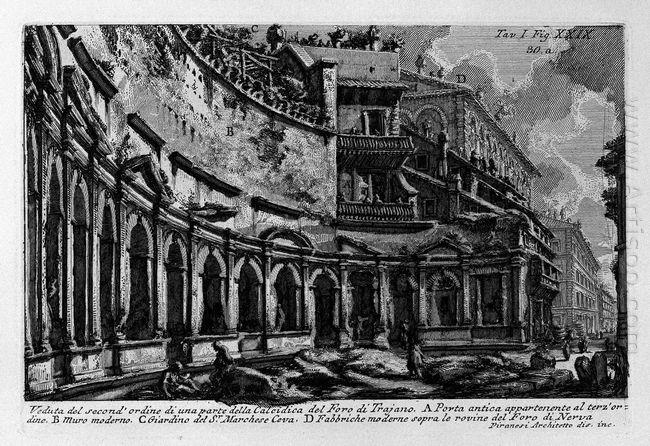 The Roman Antiquities T 1 Plate Xxix Trajan S Market 1756