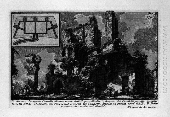 The Roman Antiquities T 1 Plate Xxvi Aqua Julia 1756