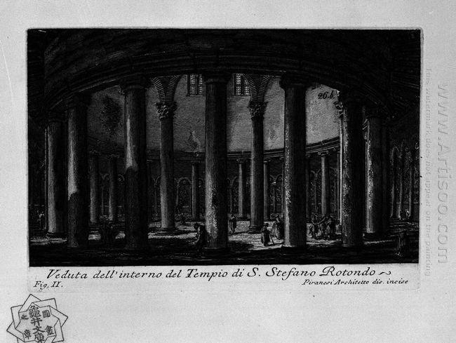 The Roman Antiquities T 1 Plate Xxv Santo Stefano Rotondo 1756