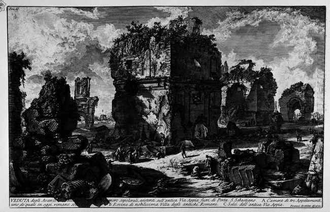 The Roman Antiquities T 2 Plate Xlvii View The Remains Of Some E