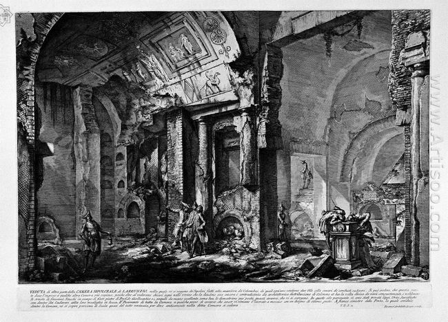 The Roman Antiquities T 2 Plate X View Of The Entrance Of The Bu