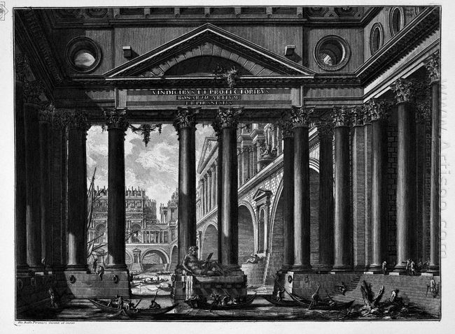 The Roman Antiquities T 4 Plate Ii According To The Title On The