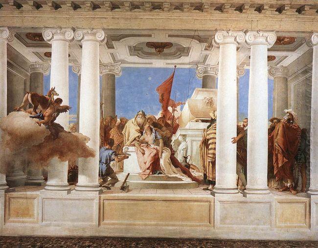 The Sacrifice Of Iphigenia 1757