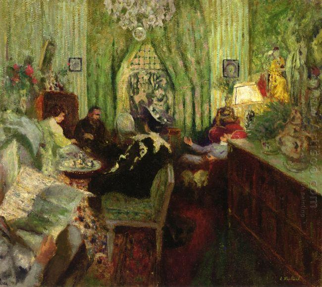 The Salon Of Madame Aron 1912