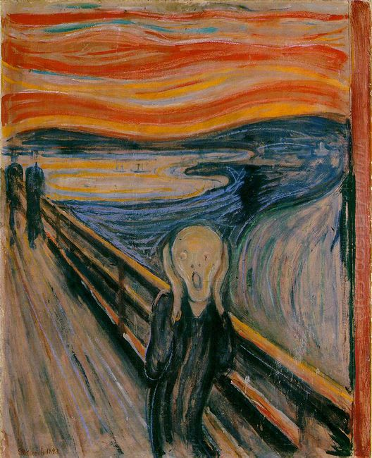The Scream 1910