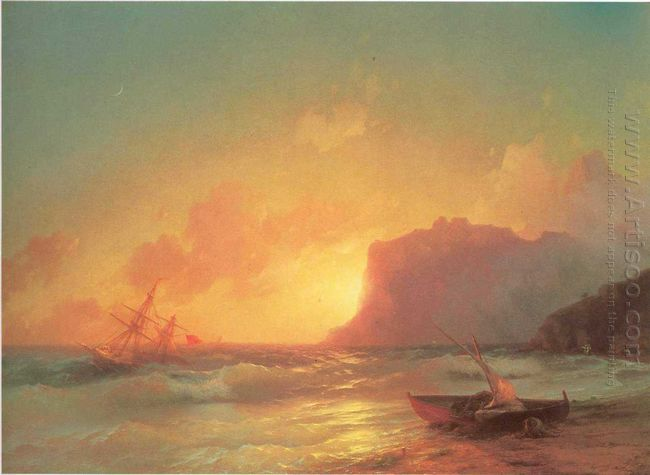 The Sea Koktebel 1853